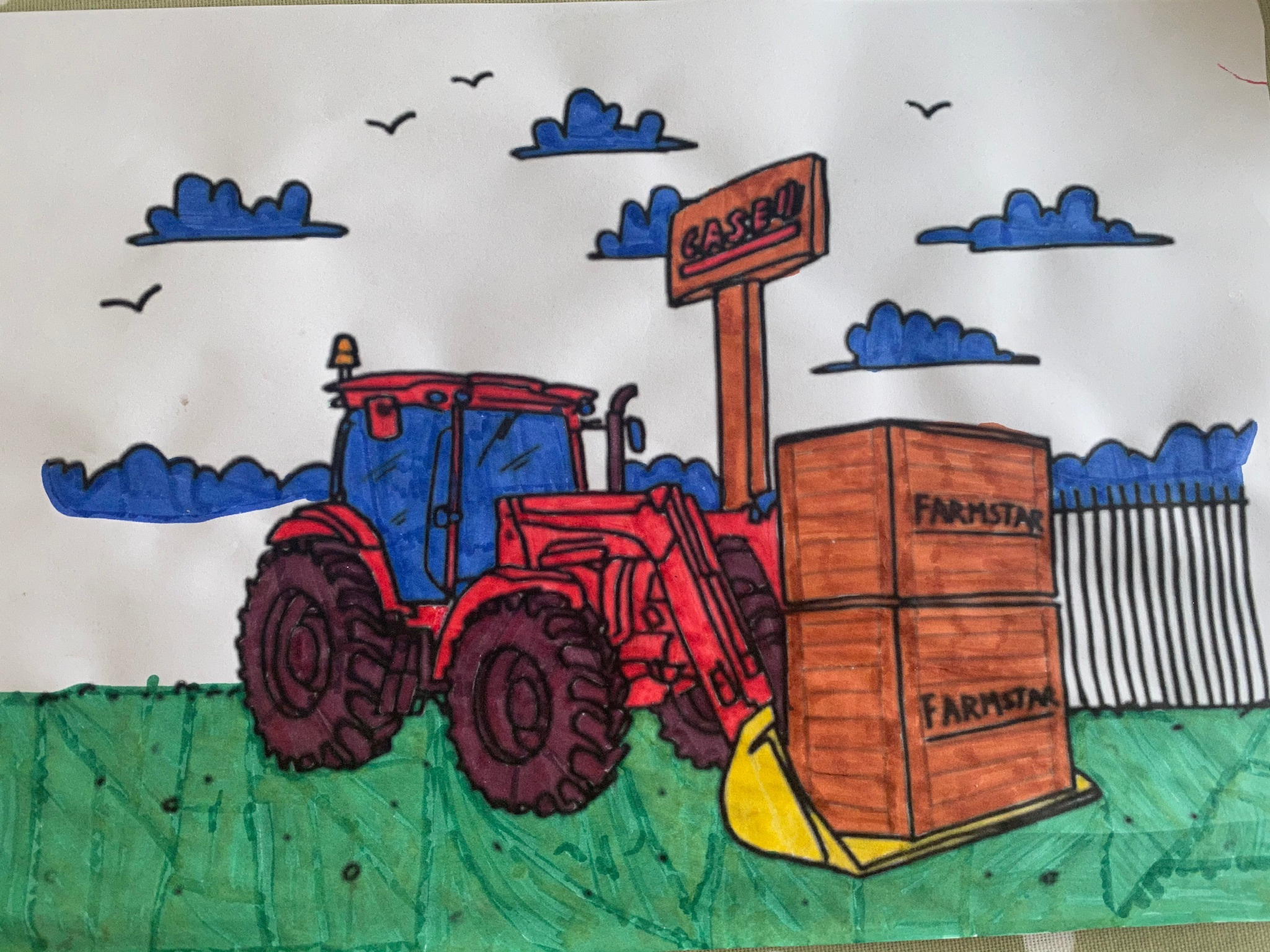 Colouring-from-machinery-dealer